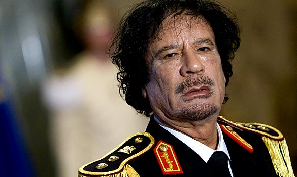 Muammar al-Gaddafi: A much tougher nut than expected buy the neocolonialists, and with an actual base of support. Libya is NOT Egypt.