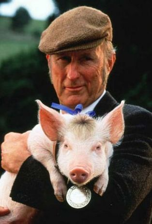 James Cromwell, the star of the film classic, BABE.