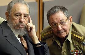 Fidel and kid brother Raul, longtime head of the army. How will they play their cards to salvage at least a portion of true socialism?