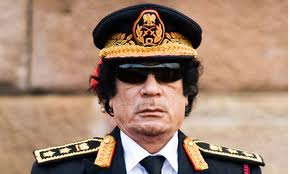 Gaddafi: Junked by the empire.