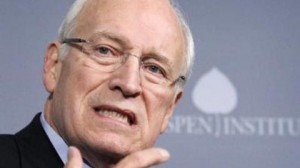 The indestructible and untouchable Cheney: The gallows is too good for this piece of scum.