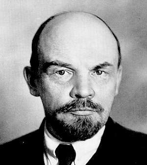 Lenin: the foremost architect of revolution.