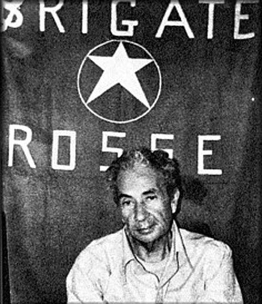 Italy's late PM Aldo Moro: Captured by the Red Brigades, and later executed, with the group heavily infiltrated and probably controlled by Gladio operatives. A prominent case of modern political terrorism by big-state agencies.