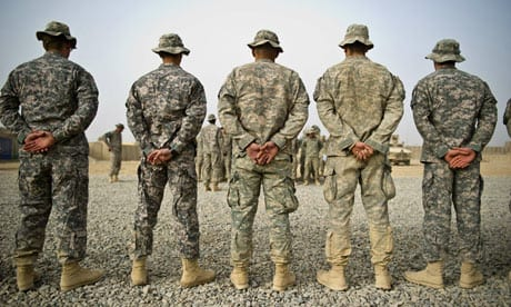 US soldiers in Afghanistan: conditioned by propaganda, precious few figure out the true motives for which they are fighting.