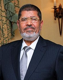 Egypt's leader Mohamed Morsi