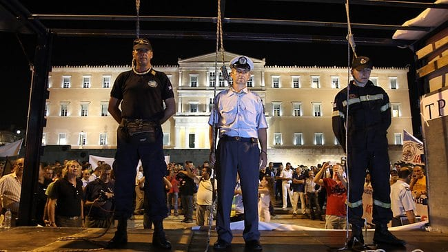 greece-police-protests