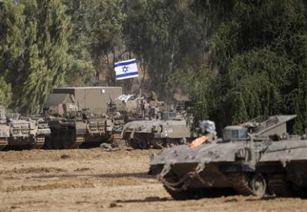 Israeli tanks massing on Gaza's borders. Haven't we seen this before countless times?