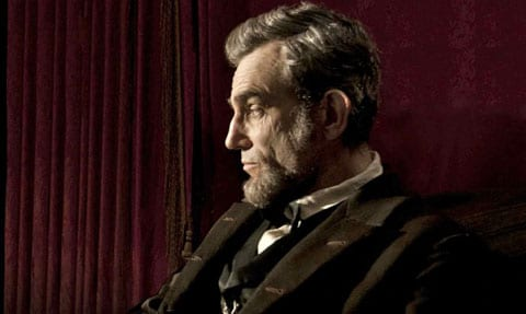 Day-Lewis as Lincoln