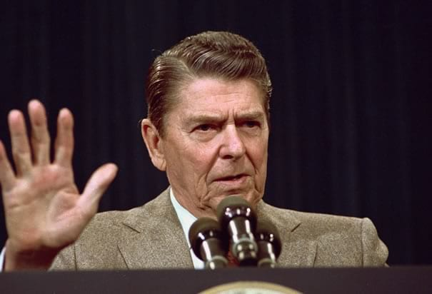 "REAGAN: Some presidents lie much more than others but they all lie. Reagan was an asset because of his ability to ""amiably"" avoid the truth. Obama is his equal or his better."
