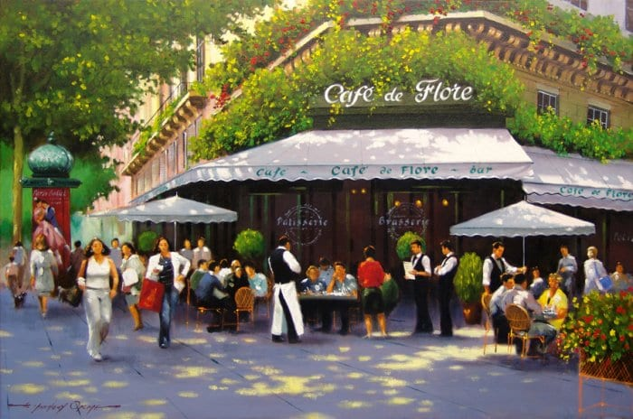 Something Grand Happened At The Café de Flore | The Greanville ...