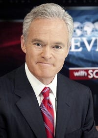 CBS Evening News anchor Scott Pelley: as superficial as he is self-impressed, and all of it fits the mould.