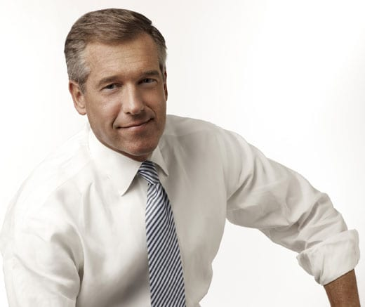 NBC's Brian Williams: overpaid news readers who dutifully follow the scripted line.