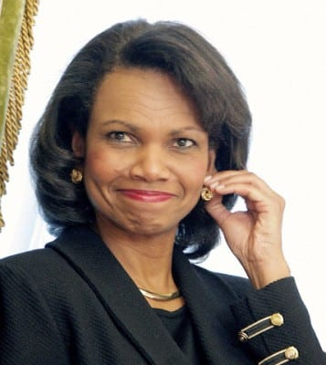 Condi Rice: Still injecting lies with impunity, courtesy of the US media system.