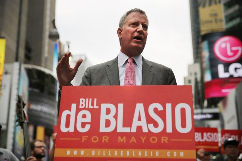 Mayor de Blasio was forced to cave in on the charter school issue, after an alliance of billionaire-funded groups and treacherous Andrew Cuomo sided with his well-funded opponents.