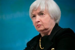 Yellen: Same old same old, although burgo feminists will cheer.