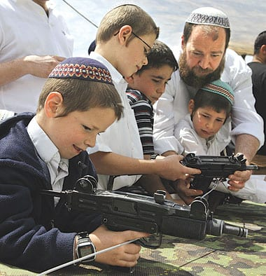 Jewish settlers constitute a constant problem for Israel and reinforce its drive to militarism.