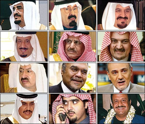 Part of the Saudi Royal mafia. All hardcore reactionaries and Washington eager accomplices.