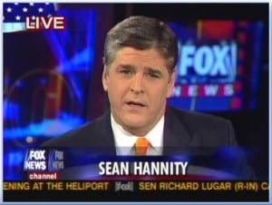 Sean Hannity: Be sure to wear nose clips when approaching this tower of excrement.