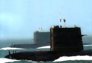 During a recent exercise a US Navy strike force in the  South China sea was suddenly interrupted by the surfacing of a Song Class Chinese sub. The  vessel had not been detected.