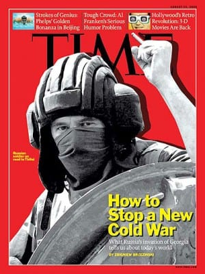 Even prominent warmongering media like TIME are now advising a bit of caution.