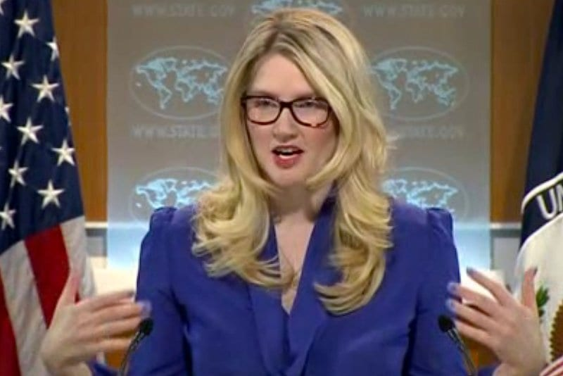 Marie Harf, liar in charge for the White House,