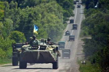 ukraineArmoronthemove3July2014