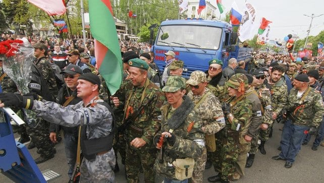 The DPR's people's army: the people in arms.