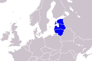 Position of the Balts in Europe