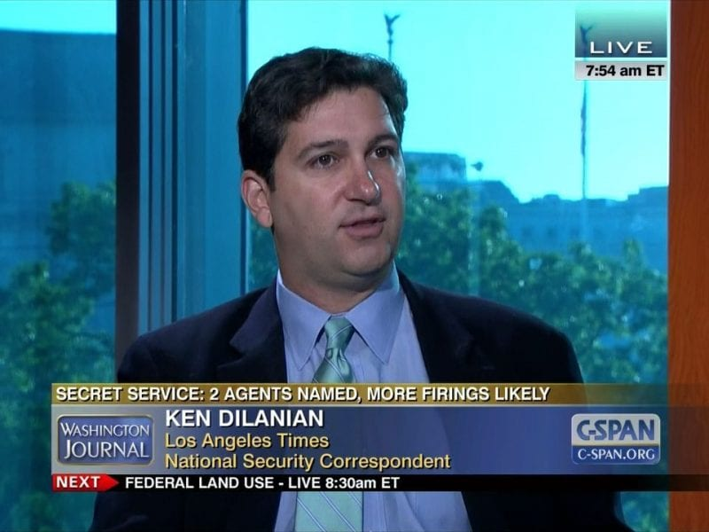 Dilanian: a complete scum but all too typical of corporate journalism where career is all that matters.