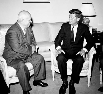 relationship between jfk and khrushchev
