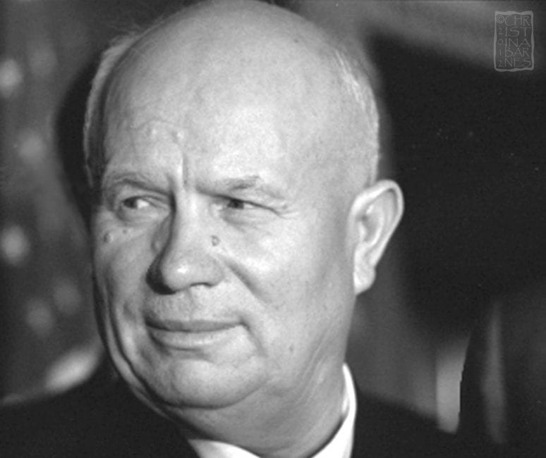nikita kruschev Nikita khrushchev was the leader of the soviet union during the cuban missile crisis of 1963when khrushchev backed down and removed soviet nuclear missiles from cuba, his credibility was in tatters within the soviet union's political hierarchy and it was only a matter of time before he was edged out of office.