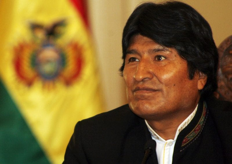 President Morales: Doing what many leaders should have done a long time ago.