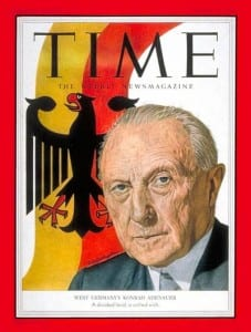 "Lionised by the West, Konrad Adenauer, ""Der Alte,"" was yet another eager pawn in America's hypocritical game."