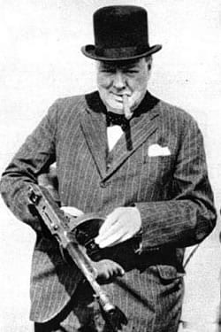 Winston Churchill is probably one of the most mythologized figures in modern history.