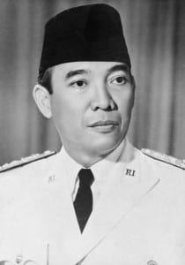 "President Sukarno: One of the pillars of the 1960s ""non-aligned movement."" His departure from power, initiated by the West, opened the floodgates to neocolonial tyranny."