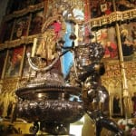 Madrid: All that gold stolen by the Church from South America.