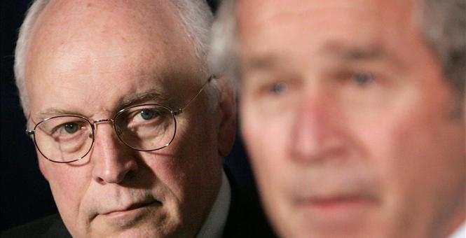 cheney-bush=torture