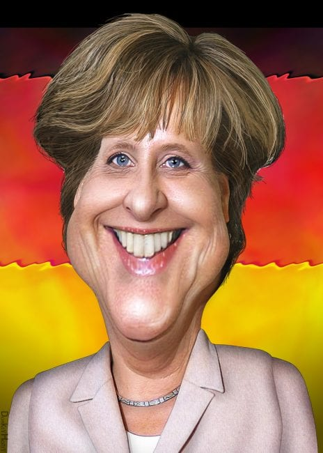 Angela Merkel: Even Germany is having second thoughts about the strategy pursued by Washington.