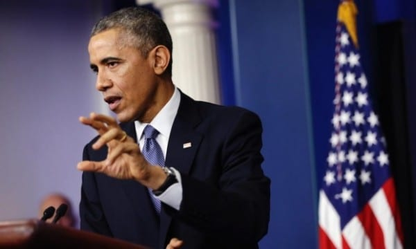 """Obama mischaracterizing the hacking incident as an act of """"terrorism."""" He alsp said Sony was an American corporation, whereas it is a Japanese multinational."""