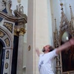 Throwing raw meat in the Church (Kohout)