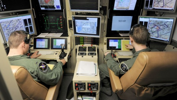 "Drone ""pilots"" in their control room. A glorified video game where humans, as Wikileaks showed, become mere ""bugs"" to be ""splattered."" Where's the honor in all this? (ABC News)"