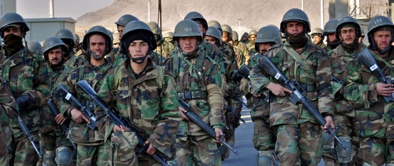 The birth of new Afghan army and the British exit strategy