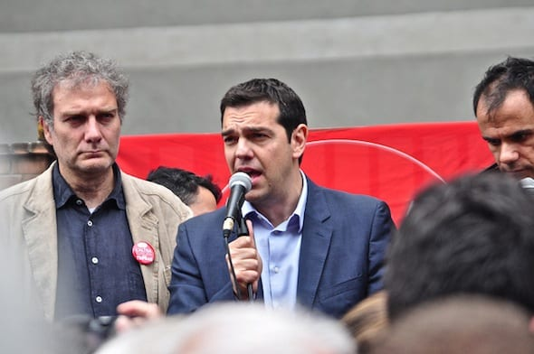 Tsipras: Pathetic, but oh so typical of liberalism's many faces.