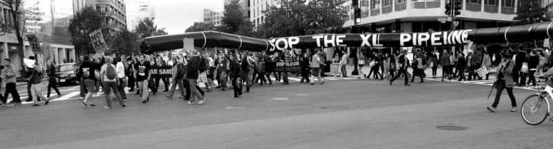 Keystone XL has indeed captured the attention of activists, and deservedly so, but the system never relents in producing new threats. (Via flickr, tarsandsaction)