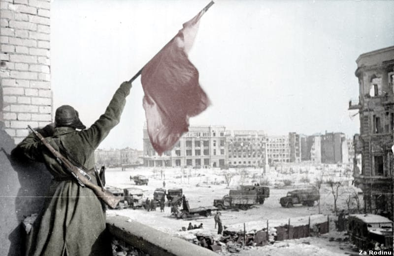 Victory at Stalingrad. Maybe the Ukrainian PM never heard of that, either?