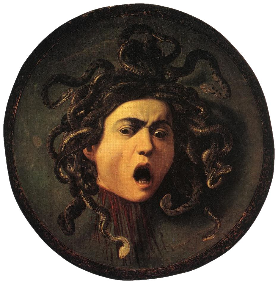 Medusa, by Caravaggio. A suitable icon for the modern tyranny of the Eurocrats. (Public domain)