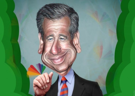 NBC's Williams: par for the course.  His biggest lies were not the reason for his fall. (DonkeyHotey, flickr)