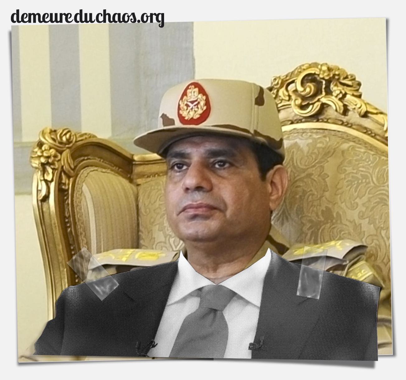 Abdelfatah al Sisi—Washington's man in Cairo: brutal even by the standards of Western henchmen.