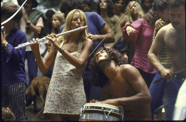 Hippie culture, 1960s. (Via P. Townsend, flickr)