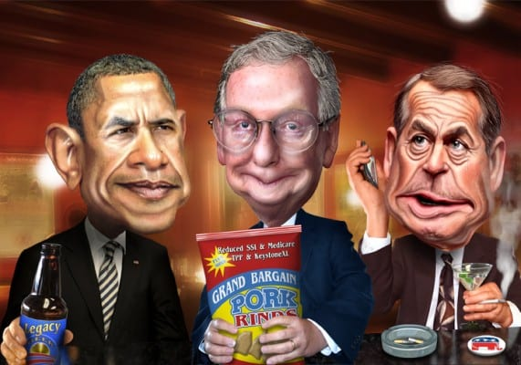 obama.McConnell.Boenhner.donkey.flickr
